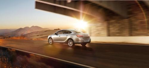 2012 Buick Verano driving off into the sunset!