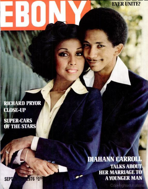 70's Cougar Growl. Diahann Carroll, September 1976