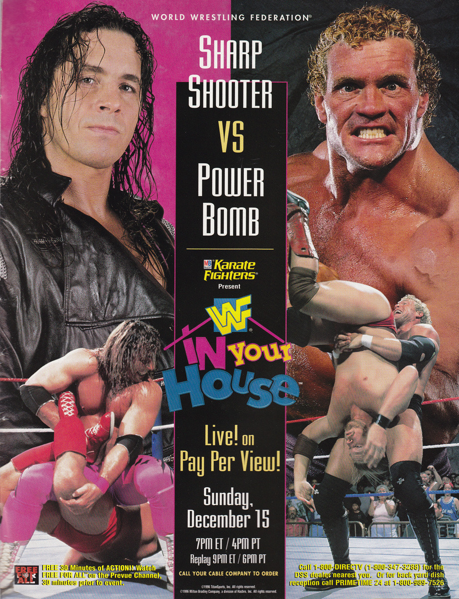 Sharp Shooter vs. Power Bomb WWF In your House