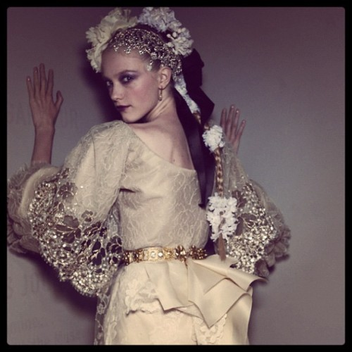 #ChristianLacroix's HC S/S '08. Christian we miss you. #hautecouture #paris #parisfashionweek #couture #fashion (Taken with instagram)