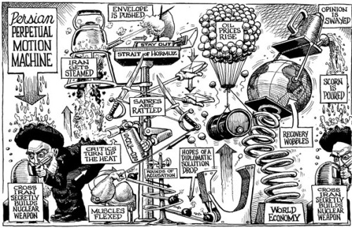 theeconomist:  KAL's cartoon: this week, perpetual motion.