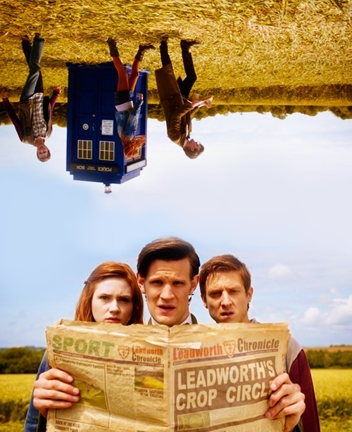 Amy, Rory, and The Doctor from Series 6: Let's Kill Hitler