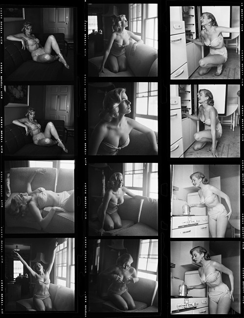 nevver:  Contact Sheets, Phil Stern