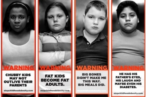 newsweek:  We're not so sure if telling fat kids they're fat is the right way to battle childhood obesity.  zeezee's corner:  All of the social marketing research shows that using shame and negative emotion appeals in public information campaigns does NOT work. Why are health campaigns still being run this way? Grrr!