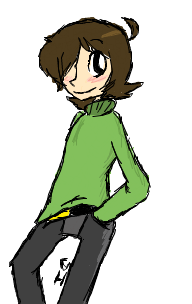 ((Drawn On Iscribble.Boy yo legs are lonnnnnnnng~))