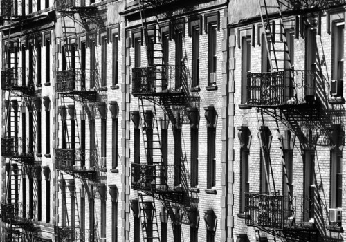 Fire Escapes, Morningside Heights