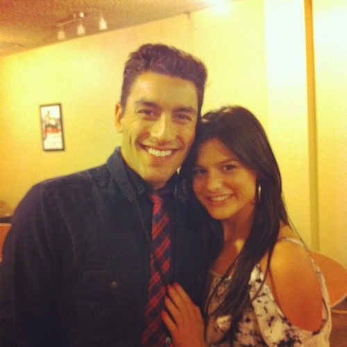 jennlovesrob:  Courtney & Robert at the Atlanta auditions for SYTYCD S9! :)  Robert Roldan (S7) and Courtney Galiano (S4).
