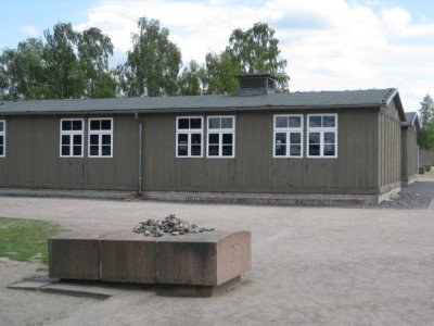 A building at Sachsenhausen concentration camp in Oranienburg, Germany (outside Berlin).  © J. Atamanuk, 05.01.2012
