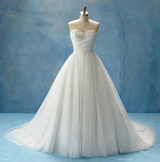 Cinderella wedding gown From the Disney Fairy Tale Weddings collection by Alfred Angelo