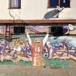 hunterzpointz:  #49ers #joemontana #hunterspoint  (Taken with instagram)