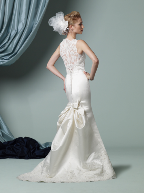 The back of this gown is stunning! James Clifford style J21102S