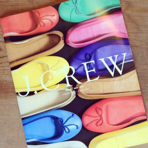 The latest @JCrew_Insider catalog was made for the Matchbook girl ;) (Taken with instagram)