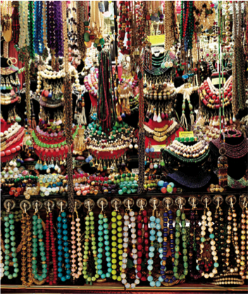 clubmonaco:   A stroll through the Grand Bazaar  Wrap yourself colorful in a rainbow of baubles from the Grand Bazaar of Istanbul. (Courtesy of Laziz Hamani/Assouline) -Assouline