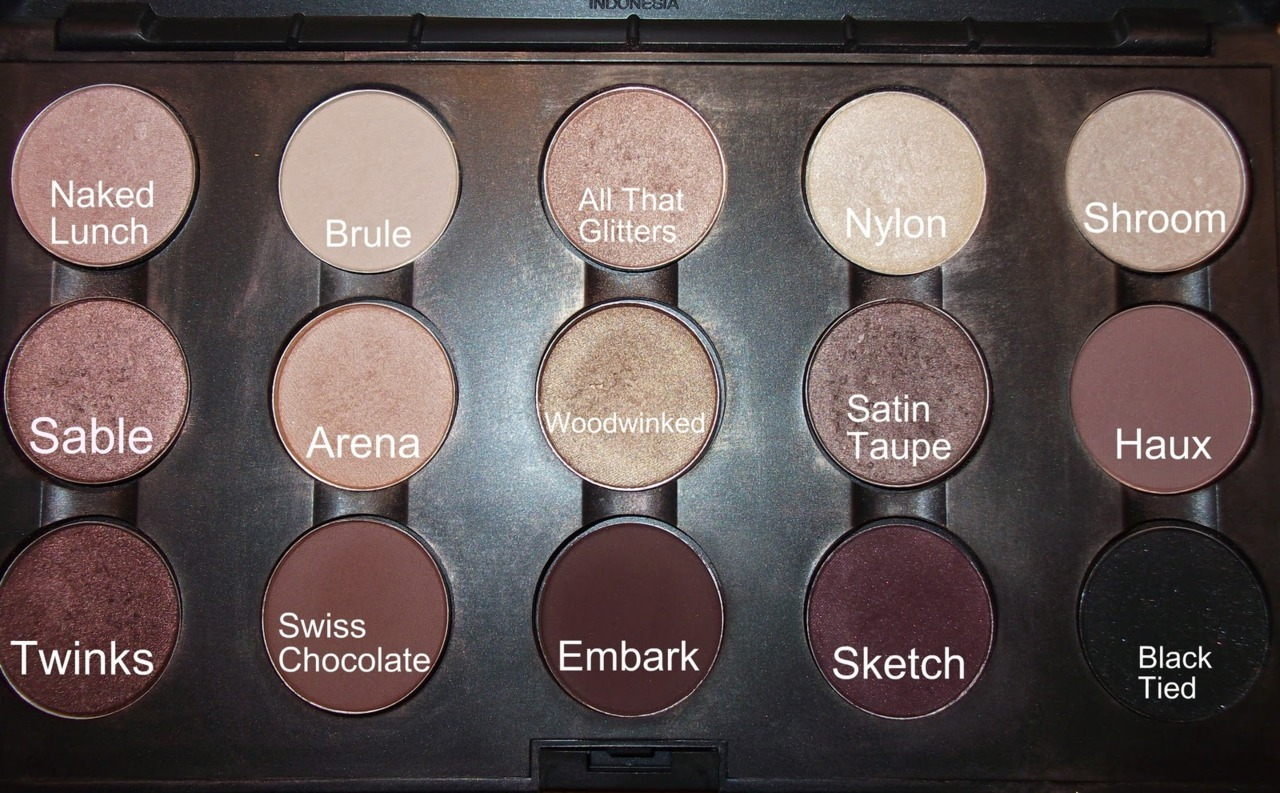 Okay, I think this how I want my MAC neutral palette to look like! I love the majority of those colors!