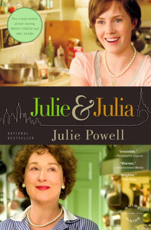 It is not often that this can be said… but in the case of Julie and Julia, I think that the movie is better than the book. ('Chocolat' is another book which, I don't believe lives up to the movie… think Johnny Depp) Julie Powell, started a project to make all of the Recipes in Julia Child's 'Mastering the Art of French Cooking' in one year. This book is a memoir of that eventfull year, recording mishaps and triumphs in the kitchen as well as her love life, her work life and the lives of her closest friends. Julie recorded her year on a blog and through this became famous. Her writing style is perfect blog material: explosive at times, emotional and fast paced.. but as a novel I quickly tired of her tone. Perhaps it would be best to read a page a day or something like that? Or perhaps read her blog instead. But if you only like reading blogs, this might be the perfect stepping stone into reading longer texts. Also, her descriptions of Julia Child and her relationship with her husband Paul didn't ring as true to life as Meryl Streep's performance in the film. Streep was FANTASTIC as Julia Child… she really pulled off the voice and the energy. This energy doesn't seem to come through as much while reading the book. Here are some books in diary/letter form which you might also like:'Bridget Jones Diary' by Helen Fielding (unlike J&J I loved these books!!) 'The Princess Diaries' by Meg Cabot (for a younger audience but always entertaining)'The Guernsey Literary and Potato Peel Pie Society' by Mary Ann Schaffer'Frankenstein' by Mary Shelley (a bit of gothic horror for you)'Dracula' by Bram Stoker (because I love it so much!)