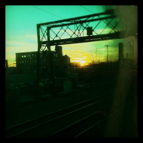 On the train home (Taken with instagram)
