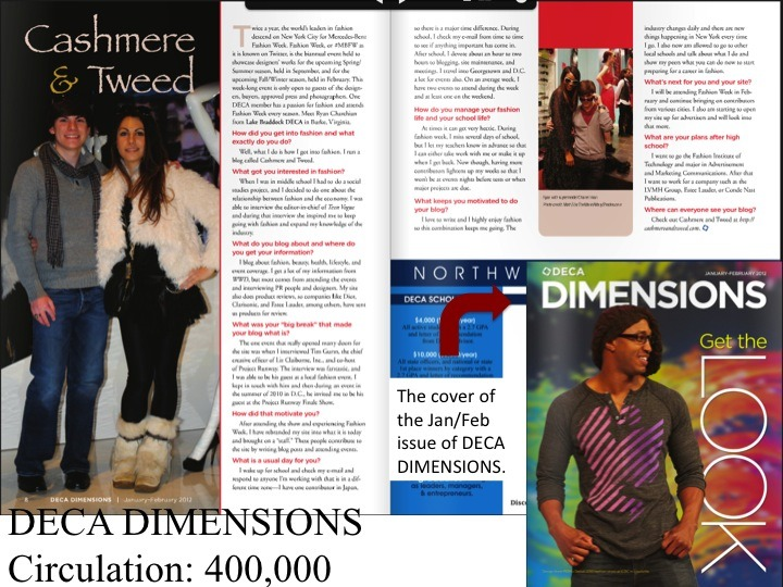 Thank you DECA for featuring me!! So kind! xo