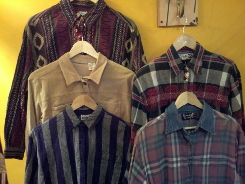 90's button down shirts.. oh yeah!