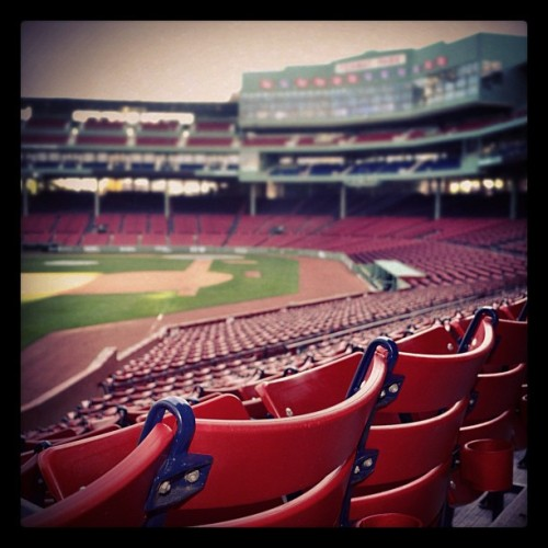 soxsnaps:  Empty (Taken with Instagram at Fenway Park)