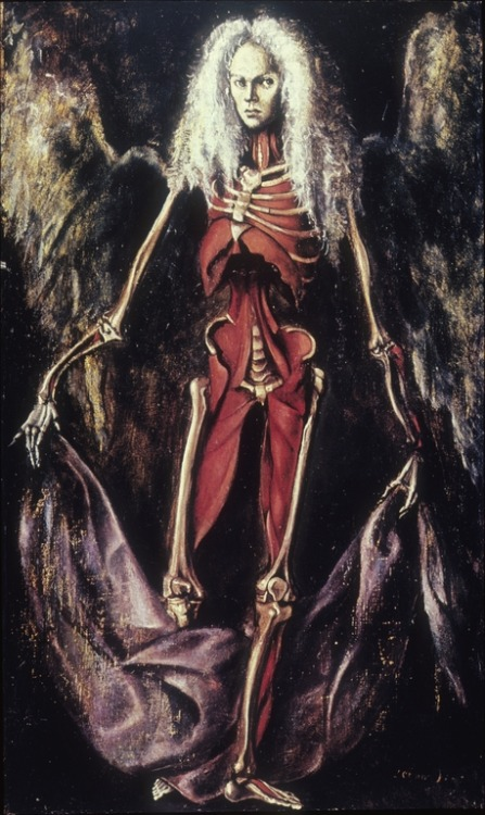 Leonor Fini, Angel of Anatomy, 1949