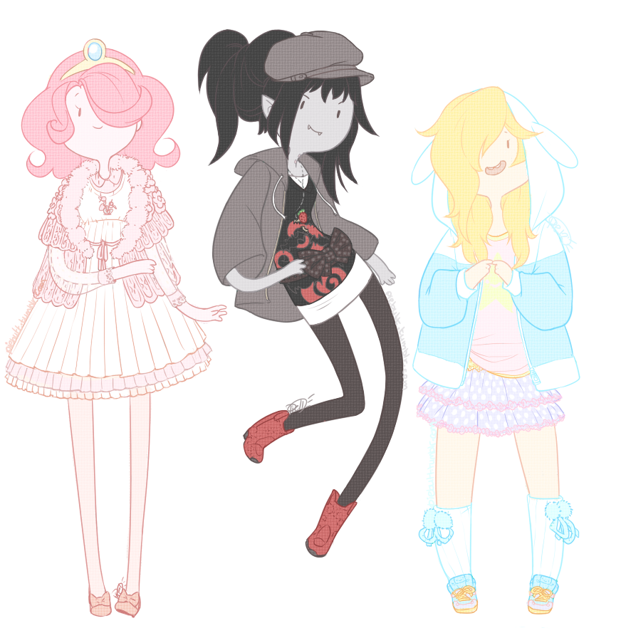 all three ladies together just because~ (ノ◕ヮ◕)ノ*:・゚✧