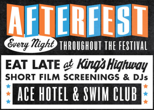 Tonight, we kick off twelve days of AfterFest — the official Palm Springs International Film Festival afterparty at Ace Hotel & Swim Club. We love film more than life itself and most of our fanciful self-perceptions and wildest dreams are built of the flickering moments of cinematic glory that have forever burned themselves into our minds. So we're excited to offer this, our second year of kindred celebration with film buffs along with a killer line-up of DJs, bands and some short films, plus all the late night food and spirits you could require. Tonight, we're getting it all started with DJ Day's ¡Reunión! in the Amigo Room.