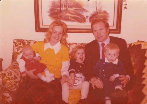 I think this is 1977. My brother was just born.