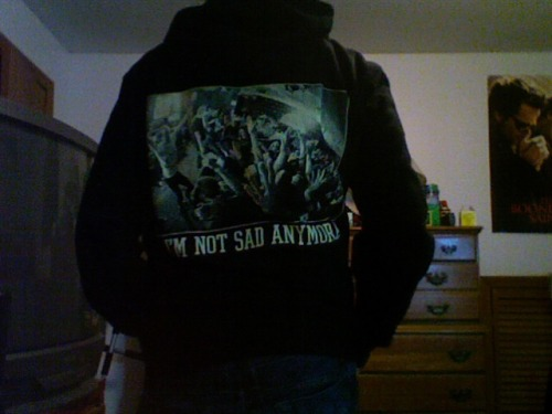 New hoodie finally got here!
