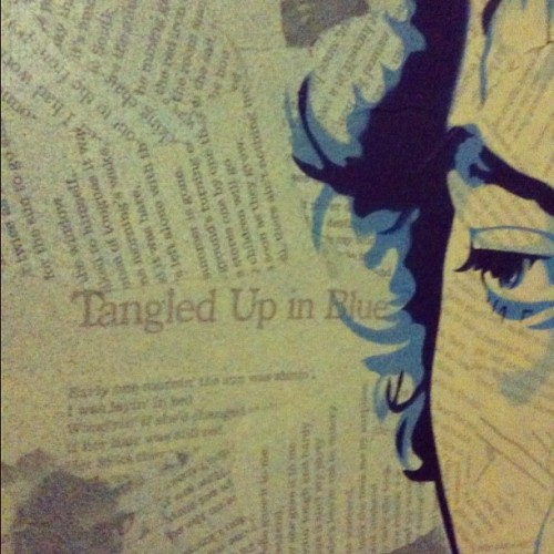 Can't show you this yet. Sneak peek. #stencil #art #dylan (Taken with instagram)