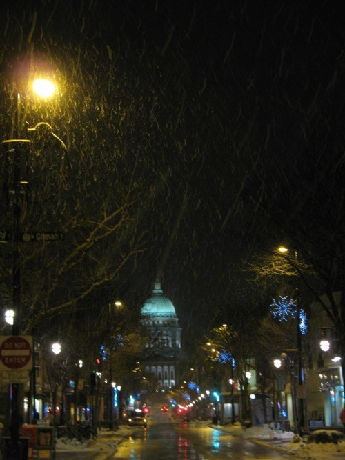 State Street.  During a real winter.