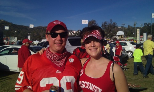 Despite a loss, the Rose Bowl was a TON of fun! The game was exciting and high scoring and we had. absolutely. amazing. weather. Now I'm back in the land of swampy, brown and grey muddy grossness and it will probably snow 20 ft tomorrow and freeze and I'll slip on ice and hit my head and die of hypothermia.