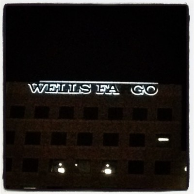 Wells Fago. Duh. (Taken with instagram)
