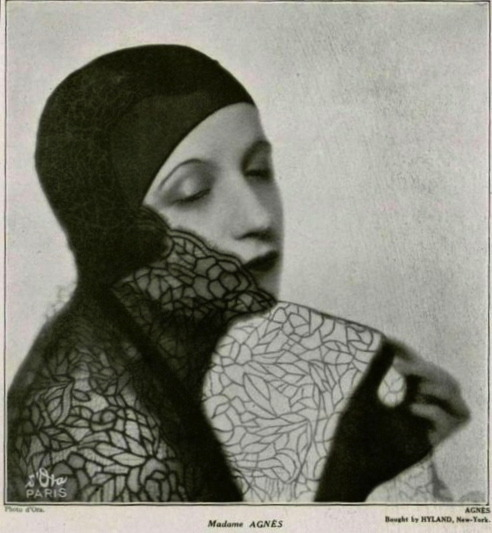 """Agnes"" (1929), photo by Madame d'Ora via hollyhocksandtulips"
