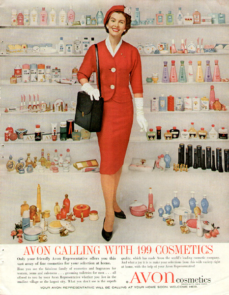 """Avon Calling With 199 Cosmetics"""