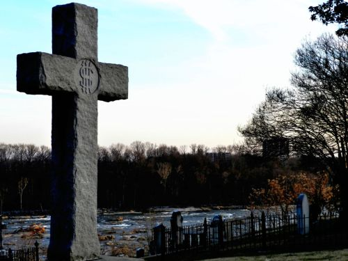 myrivercity:   View of the James River from Hollywood Cemetery
