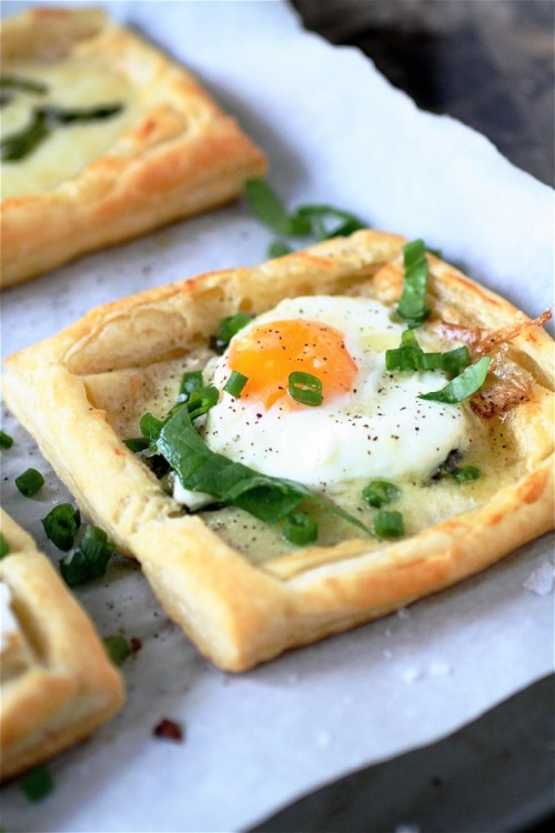 Egg and Cheese Tartlets RECIPE! Hope your 2012 is going well so far!!