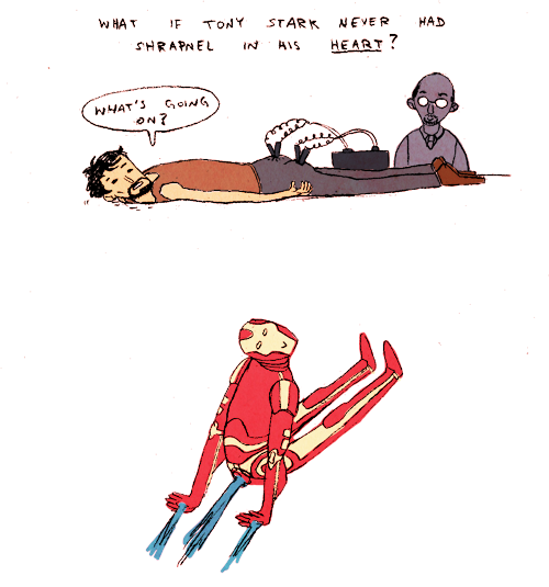 ironfries:  madeleineishere:  Iron Man Alternate Universe. I know that's not how the Arc Reactor works but I mean, welcome to the Internet.  help