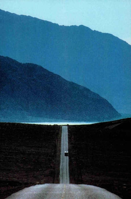 cratered:  Death Valley, National Geographic, January 1987