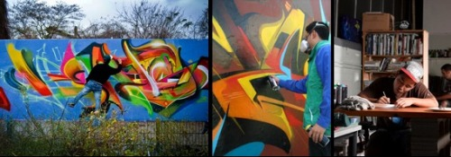 GRAFFITI ART WITH BOBBY HUNG aka BERST 17 - 20 January (4 days)Fee: $450 (includes most materials) This 4 day workshop is an introduction into the origins of Graffiti and its place in New Zealand. Students will learn the skills to create artwork for indoors and outdoors using aerosol paint. Berst will share his knowledge of Graffiti and various techniques and processes, while students do a collaborative mural onsite, and paint an artwork on canvas that will be exhibited as part of a group exhibition at CEAC.Berst is an experienced Graffiti artist and is at the forefront of graffiti in New Zealand. He has been painting for ten years and has travelled extensively around Australia, America, Europe and Asia. Born in Hong Kong, he has been living in New Zealand for the last twenty two years and is qualified in a variety of disciplines. He has a Diploma in Graphic Communication, Bachelor of Design and a Graduate Diploma in Secondary Teaching.Recently Berst has developed a popular workshop in graffiti for teenagers at CEAC.www.berst1.com Read about the CEAC graffiti wall on our BLOG.