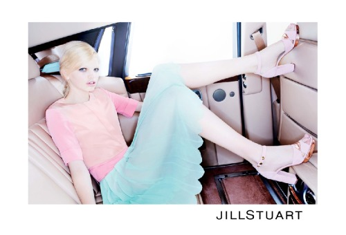 Daphne Groeneveld: Jill Stuart S/S '12 Campaign > photo 1832627 > fashion picture