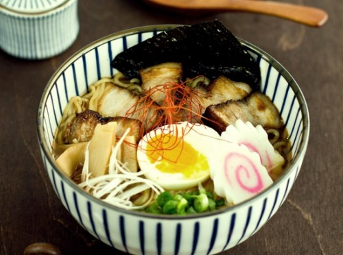 Spicy Shoyu Ramen Japanese Food…one of my favorite! click here for the recipe! Enjoy!!