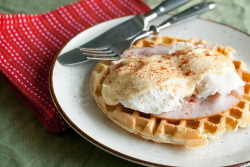Canadian Tire Kitchen Crew: Waffle Eggs Benedict click here for the recipe!