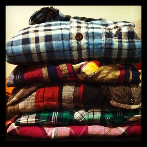 lovedoneright:  Safe to say I'm not afraid of plaid shirts?