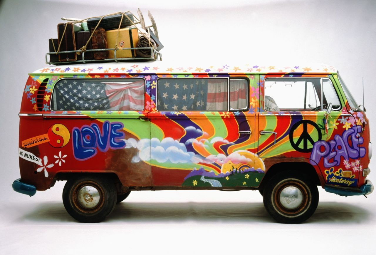 A T2 Hippie van - a bit run down (like in real life). Plenty more beautiful photos and graphics where these come from