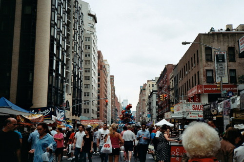 street fair, second avenue