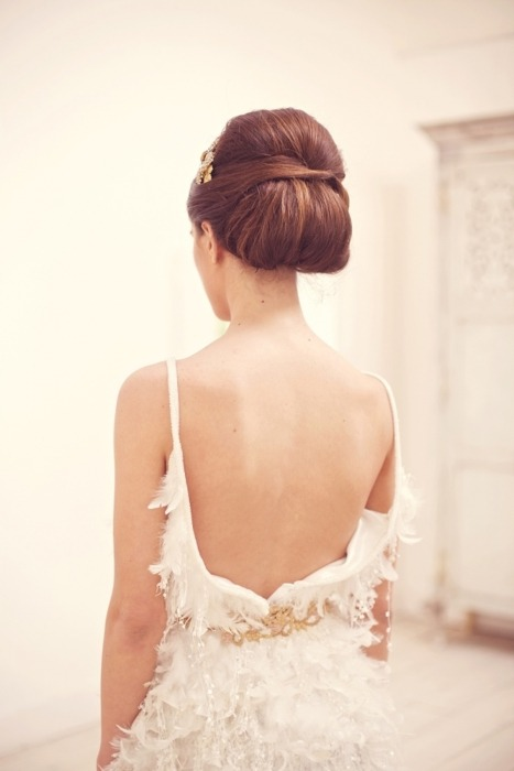 low back dress bride2be: