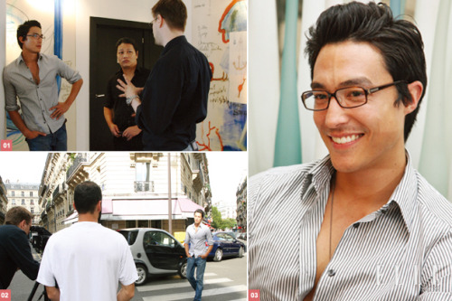 Daniel Henney in glasses is perfection.