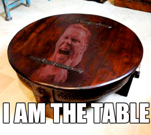 "I'd rather be ""the Table"" than a Gleek or infected with bieber-fever"