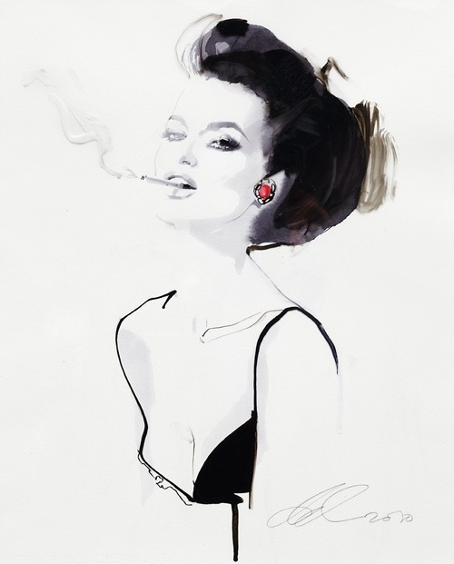 Absolut Downton, Bloody Mary by David Downton