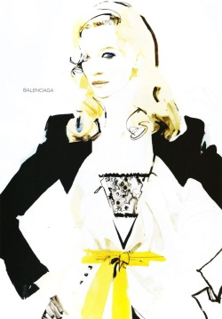 Cate Blanchett by David Downton for Vogue Australia 1